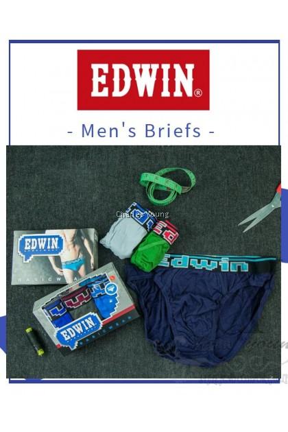 100% ORIGINAL EDWIN MAN UNDERWEAR BRIEF / SELUAR DALAM LELAKI / 100% COTTON
