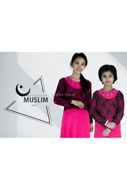 CY 078W PLUS SIZE WOMAN JUBAH DRESS MUSLIMAH / JUBAH KURUNG  DEWASA PEREMPUAN  / Jubah Wudhu Friendly