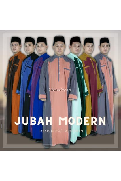 CY 367A JUBAH PANJANG KURTA MUSLIMIN ISLAM DEWASA LELAKI / Jubah Tahfiz DEWASA