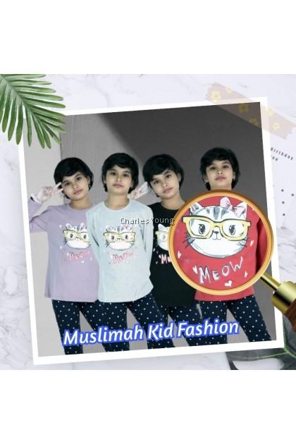 CY 2009 SUPER COMFORT MUSLIMAH 100% COTTON BLOUSE SHIRT GIRLS CHILDREN / BLOUSE BUDAK PEREMPUAN / BAJU MUSLIMAH BUDAK