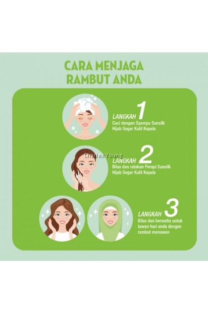 SUNSILK Hijab Recharge Segar Berhijab Shampoo 70ML 160ML 320ML