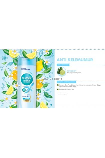 SUNSILK Hijab Recharge Anti Kelemumur Shampoo 70ML 160ML 320ML