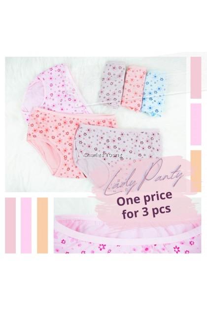 CY  809 Plus Size Panties Panty Spender Seluar Dalam Perempuan Wanita Moden / Woman Underwear / Seluar Dalam besar