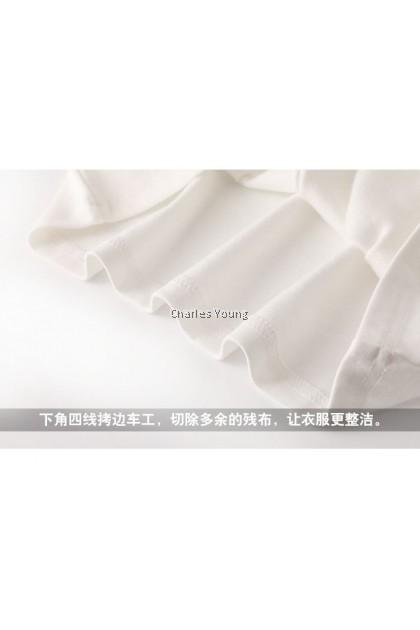 CY 8917 WOMAN BLOUSE SHIRT PEREMPUAN KOREA FASHION COTTON
