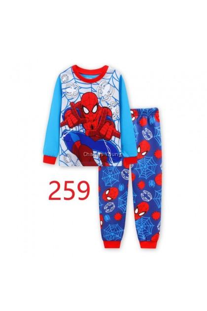 CY 146923 CHILDREN KID PYJAMAS SLEEPWEAR DISNEY CARTOON SPIDERMAN
