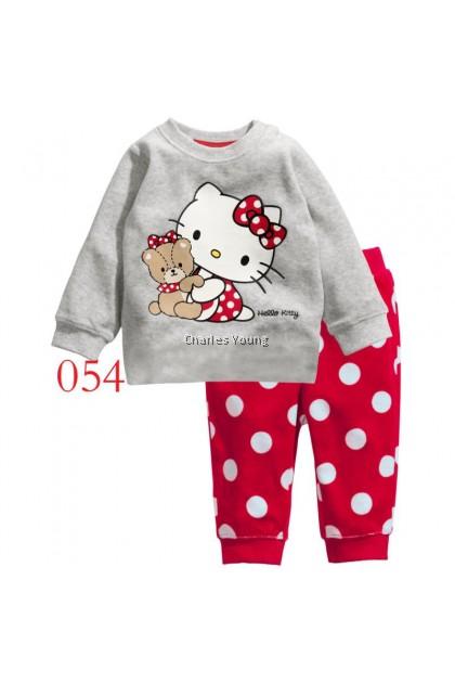 CY 146916  CHILDREN KID PYJAMAS SLEEPWEAR DISNEY CARTOON HELLO KITTY C