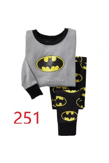 CY 146920  CHILDREN KID PYJAMAS SLEEPWEAR DISNEY CARTOON BATMAN C