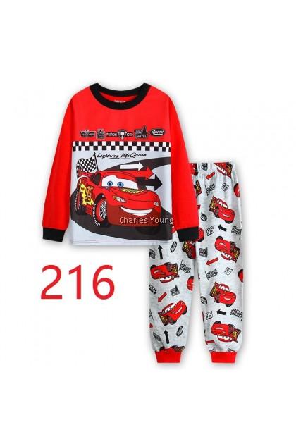 CY 146924  CHILDREN KID PYJAMAS SLEEPWEAR DISNEY CARTOON CARS A